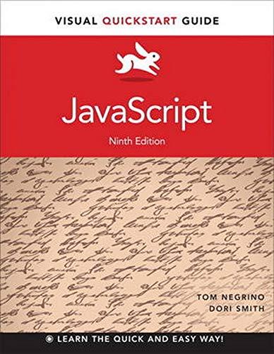 9780321996701: JavaScript: Visual QuickStart Guide (9th Edition)
