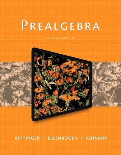 9780321997159: Prealgebra (7th Edition)