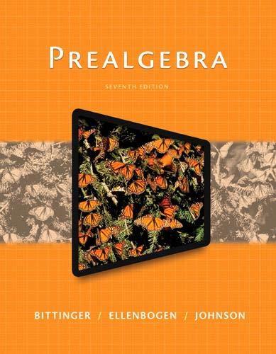 9780321997159: Prealgebra (7th Edition)