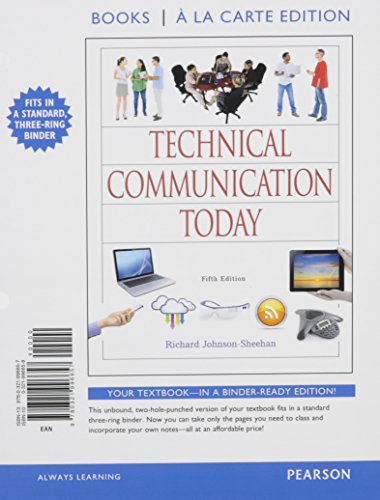 Technical Communication Today, Books a la Carte Plus MyWritingLab with eText -- Access Card Package...