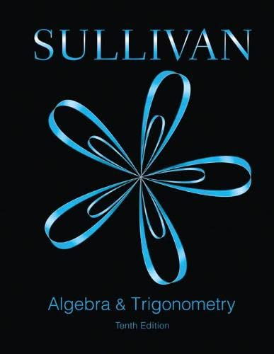 9780321998590: Algebra and Trigonometry