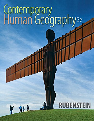 9780321999016: Contemporary Human Geography (3rd Edition)