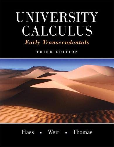 9780321999580: University Calculus: Early Transcendentals (3rd Edition)