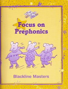 9780322006904: Wright Skills Focus on Prephonics: Blackline Masters Book