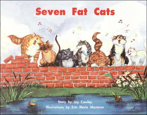 9780322019188: Seven Fat Cats (Shared Reading & Big Books)