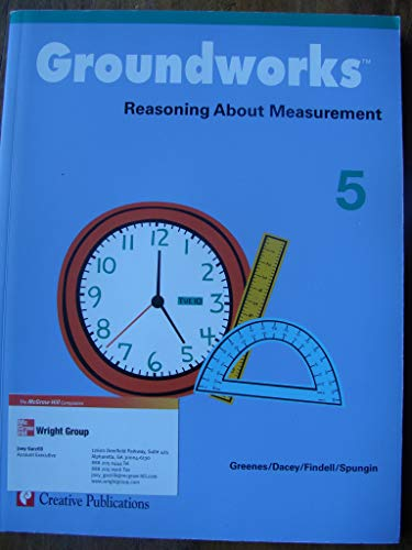 9780322085220: Groundworks, Reasoning About Measurement: Grade 5