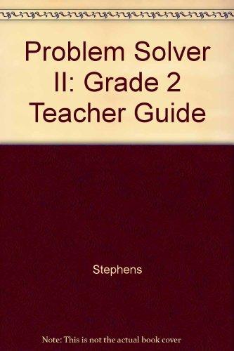 9780322088061: Problem Solver II: Grade 2 Teacher Guide