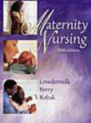 9780323002158: Maternity Nursing (Book with CD-ROM)