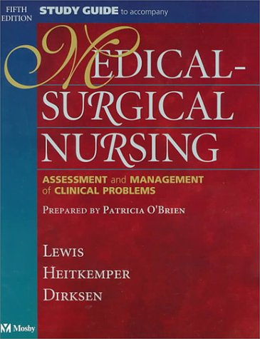 9780323002585: Study Guide to Accompany Medical-Surgical Nursing: Assessment and Management of Clinical Problems