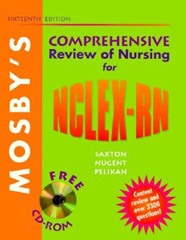 9780323002868: Mosby's Comprehensive Review of Nursing