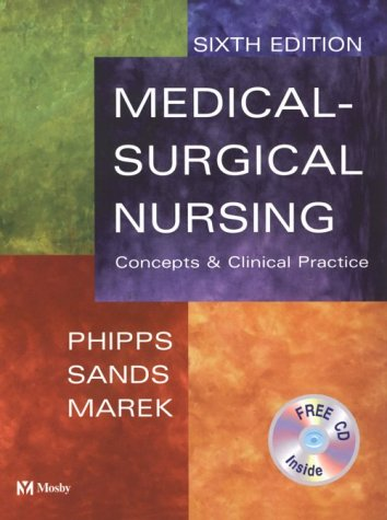 9780323003100: Medical-Surgical Nursing: Concepts & Clinical Practice (With CD-ROM)