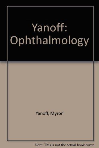 9780323005258: Yanoff: Ophthalmology