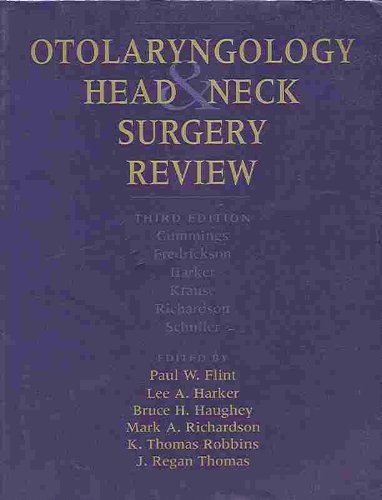 9780323006880: Otolaryngology: Head and Neck Surgery Review, 1e