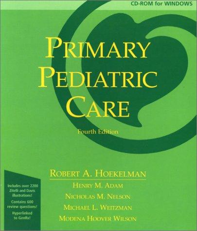9780323008303: Primary Pediatric Care CD-ROM