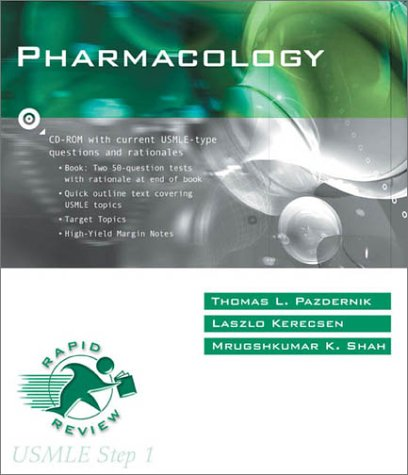 9780323008389: Pharmacology (Rapid Review: USMLE Step 1)