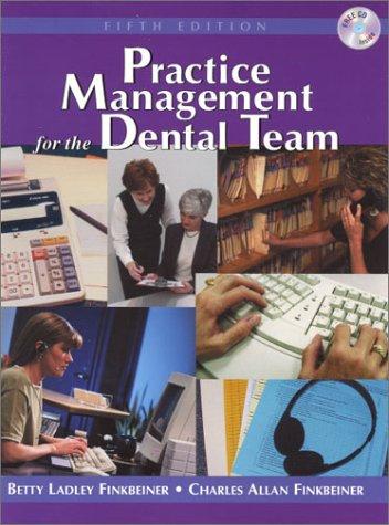 9780323008860: Practice Management for the Dental Team