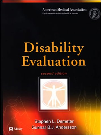 9780323009591: Disability Evaluation