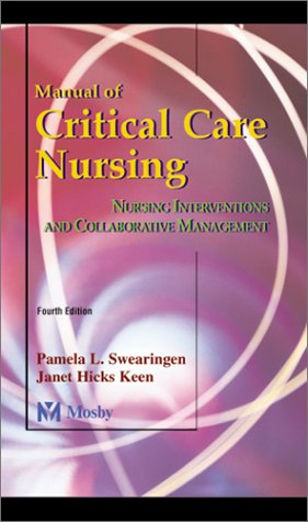 9780323009980: Manual of Critical Care Nursing: Nursing Interventions and Collaborative Management
