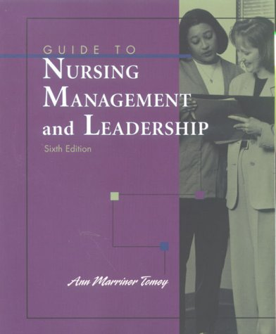 9780323010665: Guide to Nursing Management and Leadership