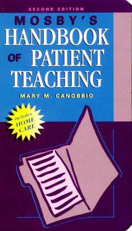 9780323011037: Mosby's Handbook of Patient Teaching, 2e