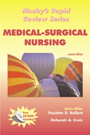 9780323011778: Mosby's Rapid Review Series: Medical-Surgical Nursing (Book with CD-ROM for Windows & Macintosh)