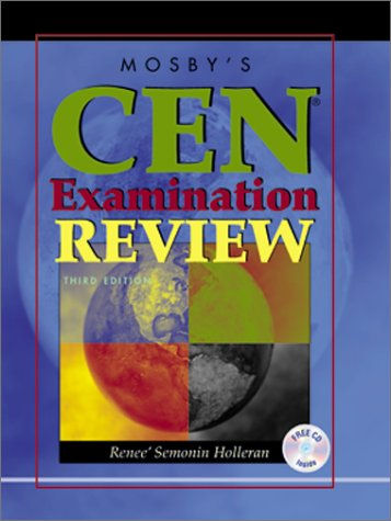 9780323012348: Mosby's CEN Examination Review (Book with CD-ROM)