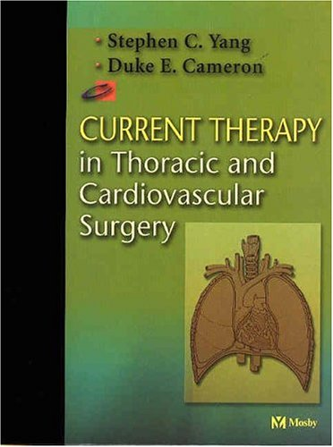 9780323014571: Current Therapy in Thoracic and Cardiovascular Surgery
