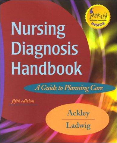 9780323014595: Nursing Diagnosis Handbook: A Guide to Planning Care, 5e