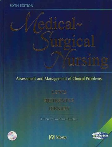 9780323016100: Medical-Surgical Nursing: Assessment and Management of Clinical Problems, Single Volume, 6e (Medical-Surgical Nursing (Lewis) Single Vol)