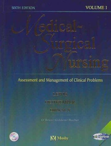 9780323016117: Medical-Surgical Nursing: Assessment and Management of Clinical Problems (2 volume set)