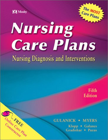 9780323016278: Nursing Care Plans: Nursing Diagnosis and Intervention