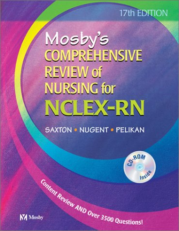 Mosby's Comprehensive Review of Nursing for NCLEX-RN: Dolores F. Saxton