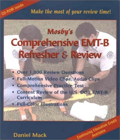 9780323016537: Mosby's Comprehensive EMT-Basic Refresher and Review CD-ROM