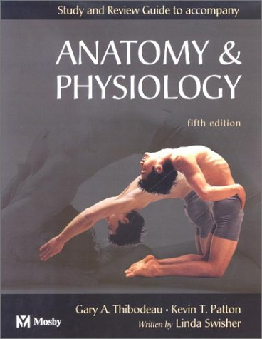 9780323016681: Study and Review Guide to accompany Anatomy & Physiology