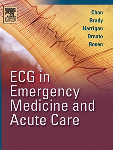 9780323018111: ECG in Emergency Medicine and Acute Care