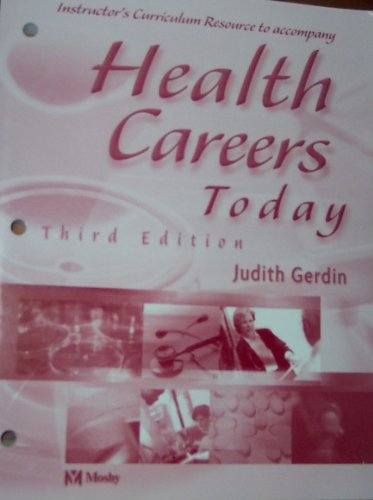 9780323018692: Health Careers Today