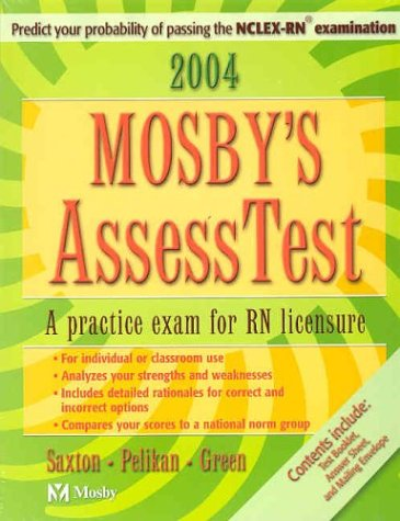 9780323019491: Mosby's 2004 Unsecured AssessTest, 3e