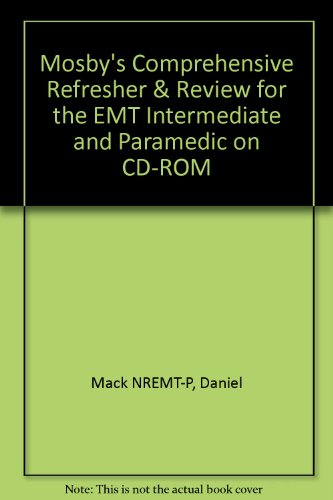 9780323019590: Mosby's Comprehensive Refresher & Review for the EMT Intermediate and Paramedic on CD-ROM