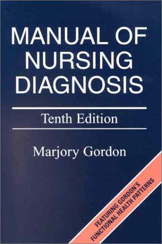 9780323019781: Manual of Nursing Diagnosis