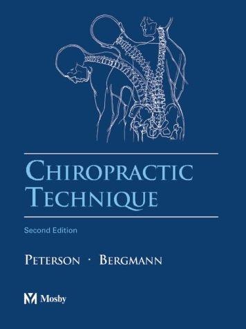9780323020169: Chiropractic Technique: Principles and Procedures