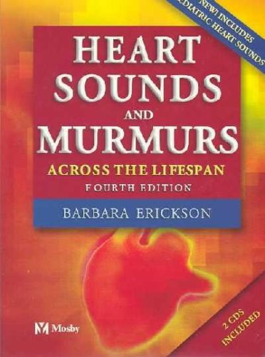 9780323020336: Heart Sounds and Murmurs Across the Lifespan (with Audiotape)