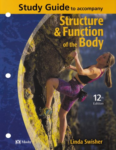 9780323022170: Study Guide to Accompany Structure and Function of the Body