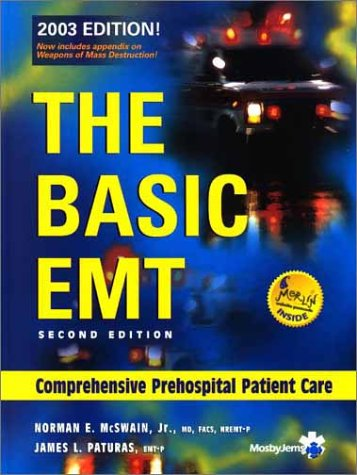 9780323022569: The Basic EMT: Comprehensive Prehospital Patient Care (2003 Edition)