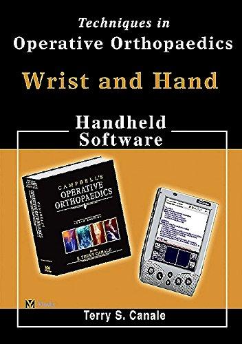 9780323022675: Techniques in Operative Orthopaedics: Wrist and Hand, CD-ROM PDA Software (Operative techniques in orthopaedics)