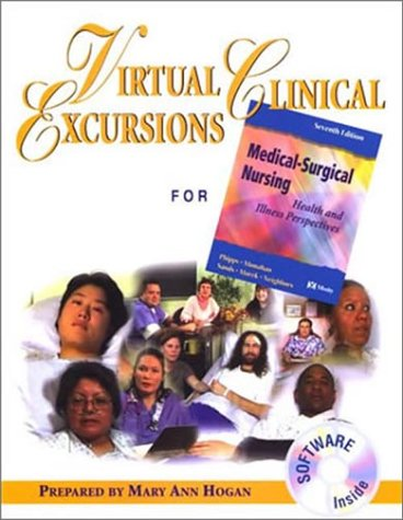 9780323023382: Virtual Clinical Excursions 1.0 to Accompany Medical-Surgical Nursing: Health and Illness Perspectives, 7e