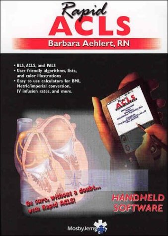 9780323023528: Rapid ACLS on PDA - CD-ROM PDA Software, 1e