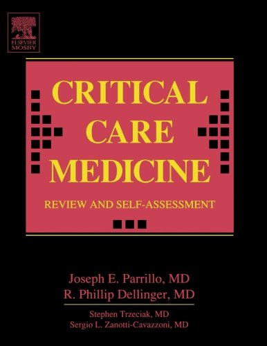 9780323024549: Critical Care Medicine Review and Self-Assessment, 1e