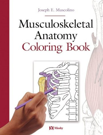 9780323025225: Musculoskeletal Anatomy Coloring Book, 1e