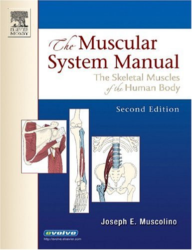 9780323025232: The Muscular System Manual: The Skeletal Muscles of the Human Body