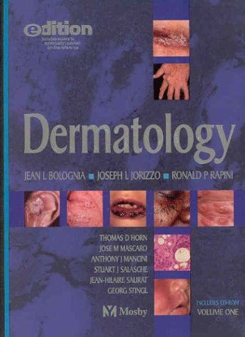 9780323025782: Dermatology e-dition: Text with Continually Updated Online Reference
